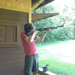 "Noah ""Deadeye"" Gerstein takes on the deadly Clay Pigeon..."