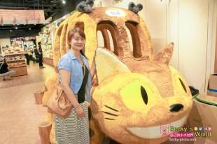 【台北】。搶先看超大隻宮崎駿龍貓巴士*會打呼的瞌睡龍貓~全球最大台灣店吉卜力專賣店「橡子共和國」開幕!