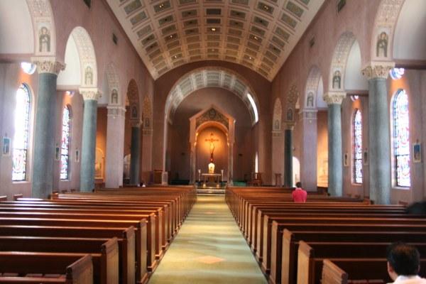 St. Anne's Parish   Inside the church. St. Anne's Parish ...
