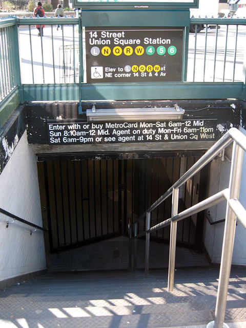 Transit Strike Day 1--61--14th Street-Union Square Station ...