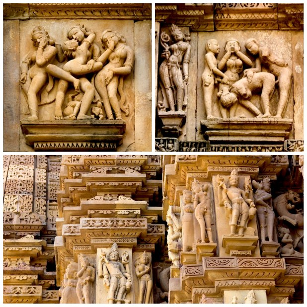 Detalles eroticos Khajuraho