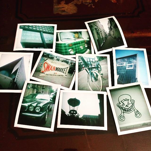 Resultaat eerste pakje Polaroid packfilm!