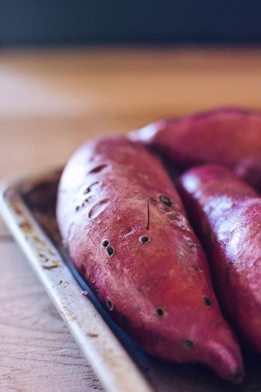locally grown sweet potatoes