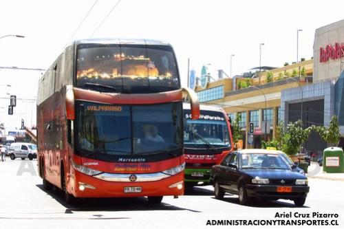 Pullman Bus - Valparaíso - Marcopolo Paradiso 1800 DD / Scania (FFTS46)