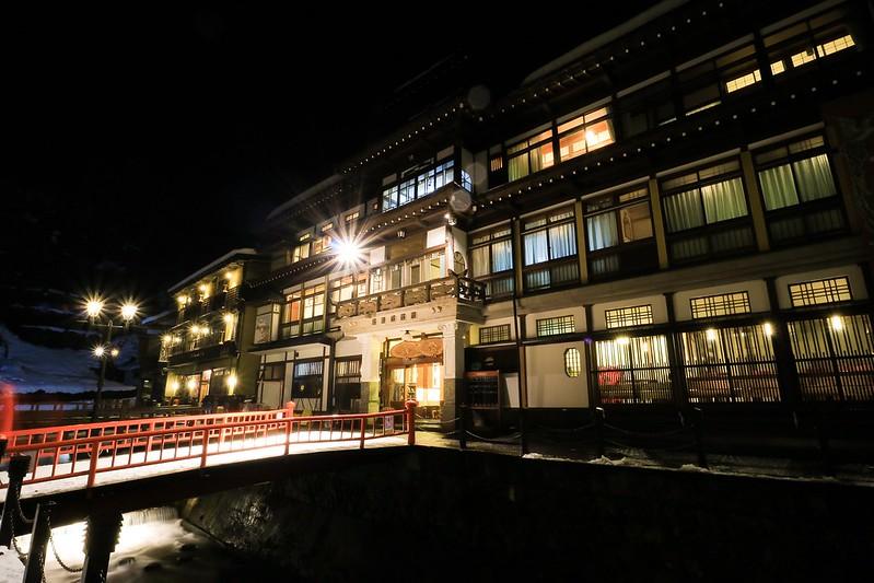 【住宿】銀山溫泉「能登屋」終於訂到神隱少女的油屋了*日本山形   貝果桑