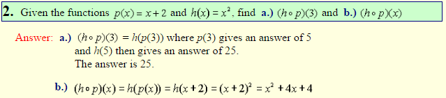 Composition of Functions-3