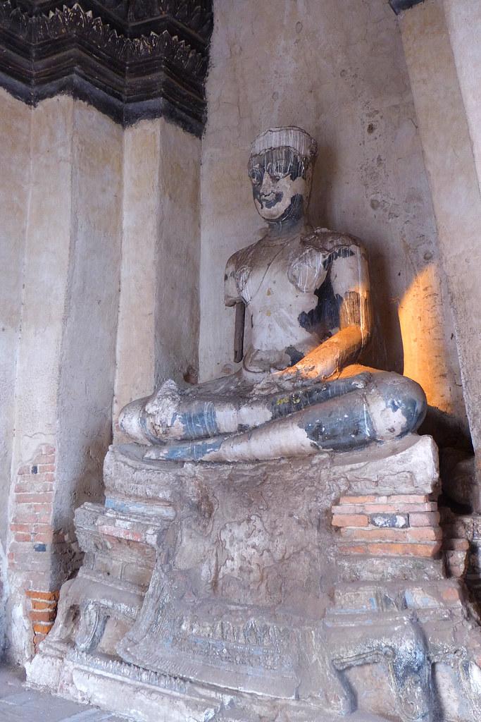 Thaïlande - Ayutthaya - 156 - Wat Chaiwatthanaram