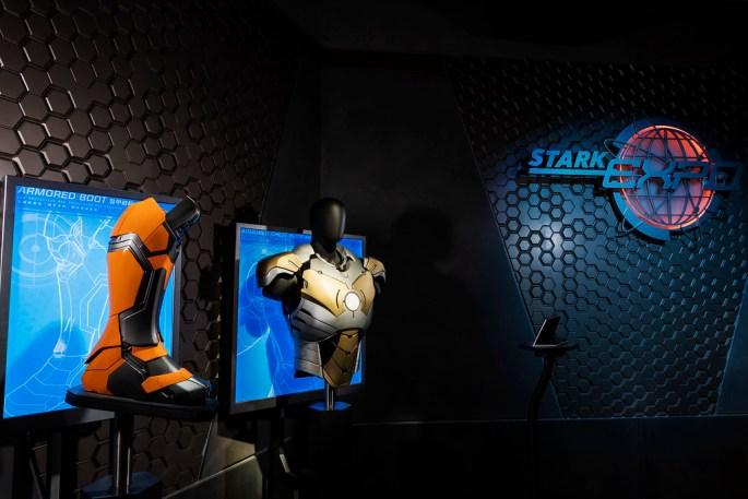 Hong Kong Disneyland_Iron Man Tech Showcase_Display