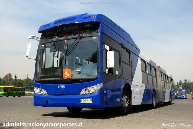 Transantiago FS | Subus | Caio Mondego LA - Volvo / ZU5656
