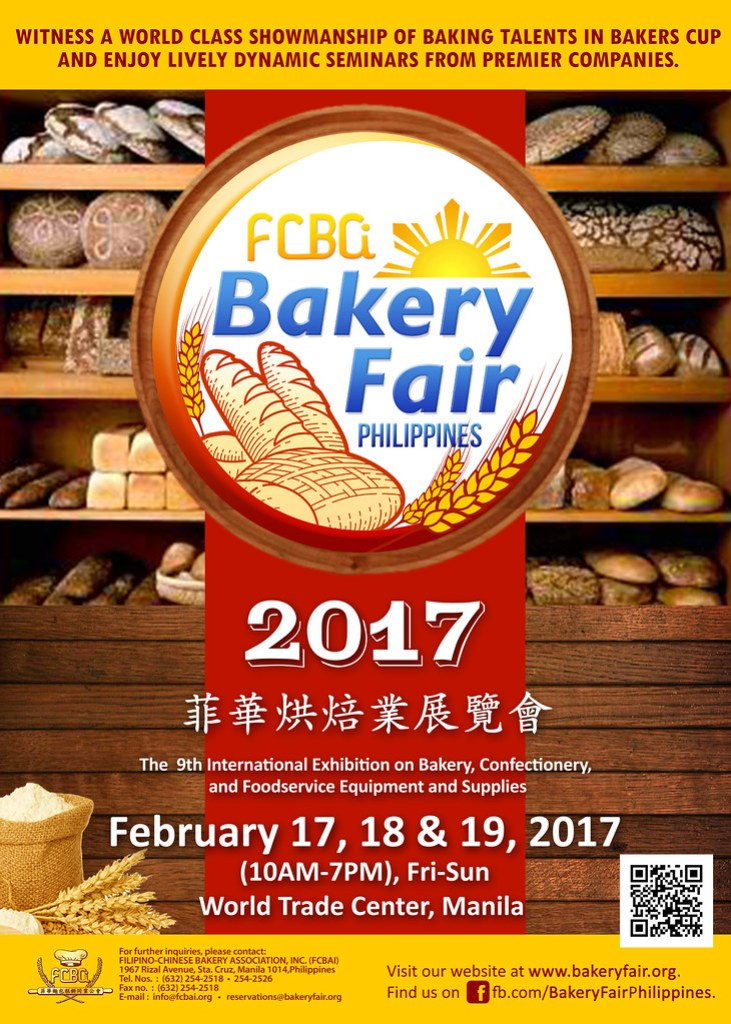 Bakery Fair 2017 Poster 2pt5 x 3pt5  ft