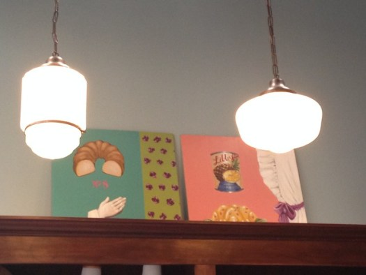 Amy C. Evans art at Biscuit Love, Nashville TN