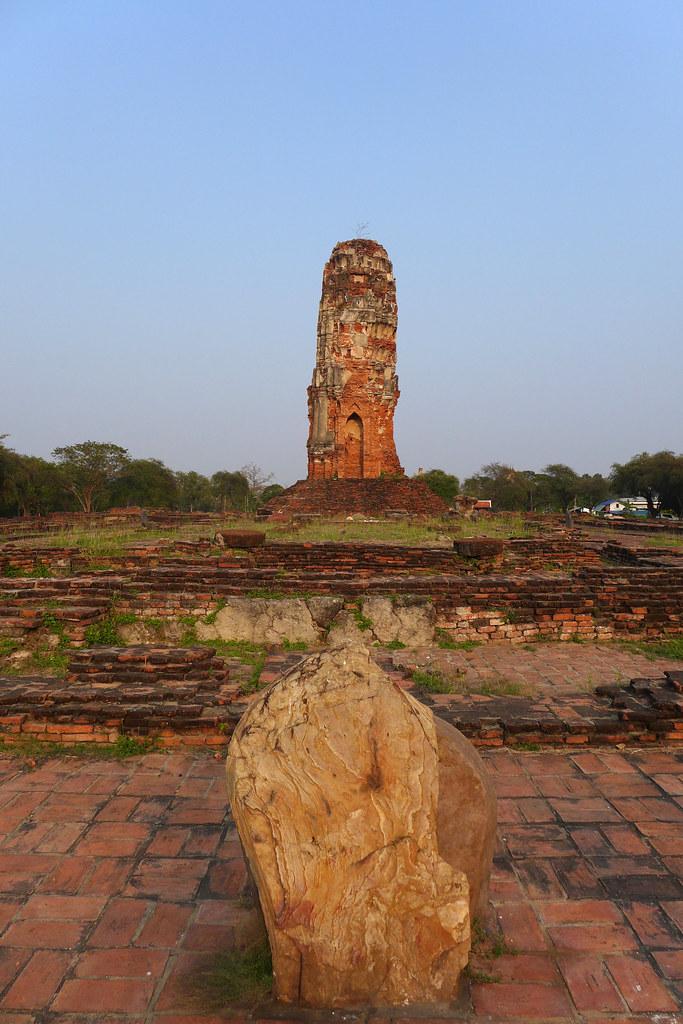 Thaïlande - Ayutthaya - 223 - Wat Lokayasutharam