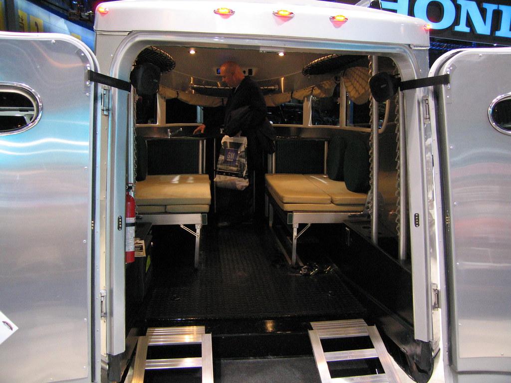 Airstream Basecamp Interior Craig Vershaw Flickr