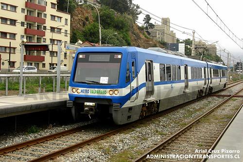 Metro Valparaíso - Portales - Alstom Xtrapolis 100 XT11