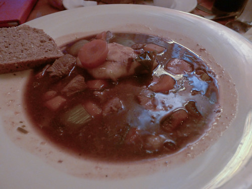 Irish Stew at McGann's Pub