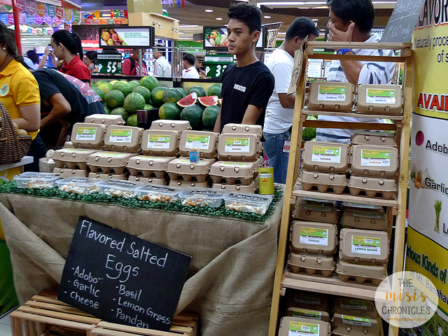 Flavored salted eggs from Victorino and Virginia's Farm