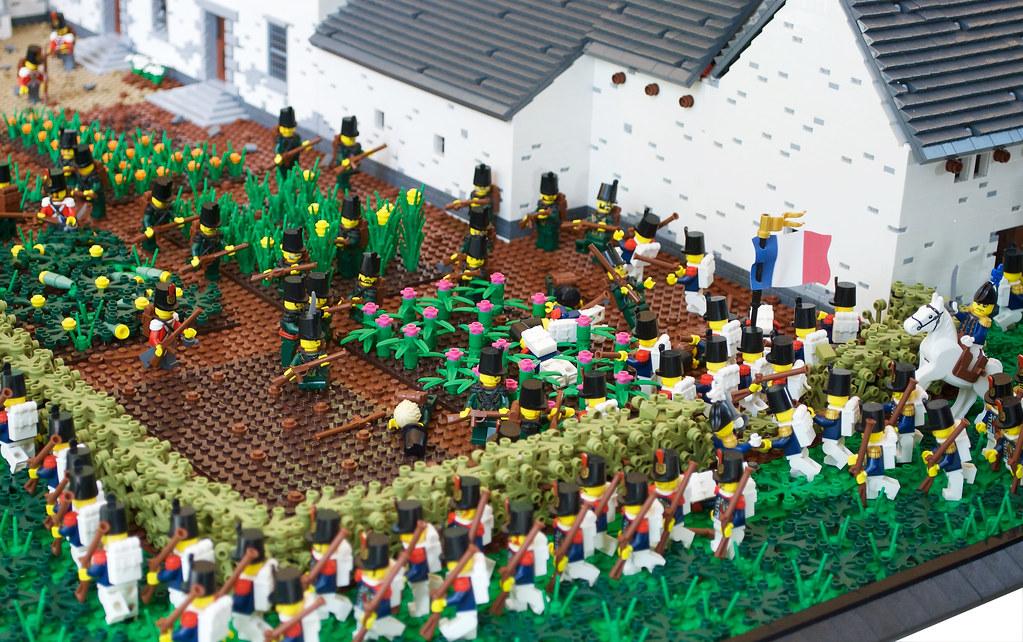 Battle Of Waterloos Defense Of La Haye Sainte Farm Fight