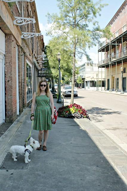 me in street