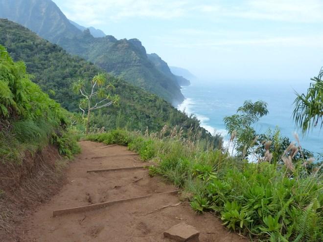 Kauai, the Garden Island of Hawai: Kalalau Trail