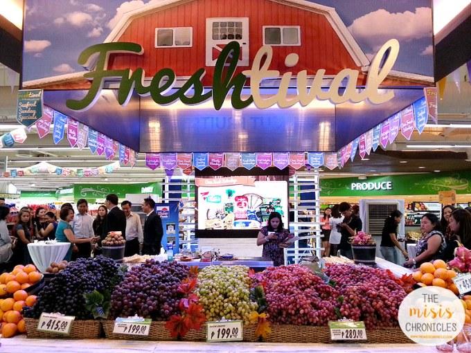 Robinsons Supermarket's Freshtival 2015