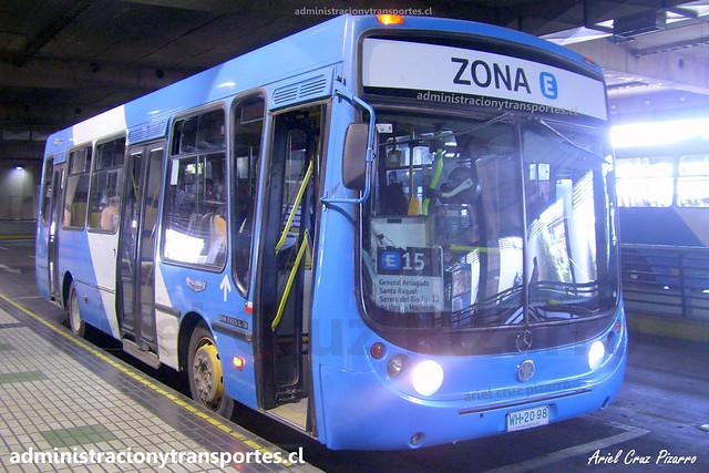 Transantiago E15 | Unitran | Metalpar Tronador - Mercedes Benz / WH2098