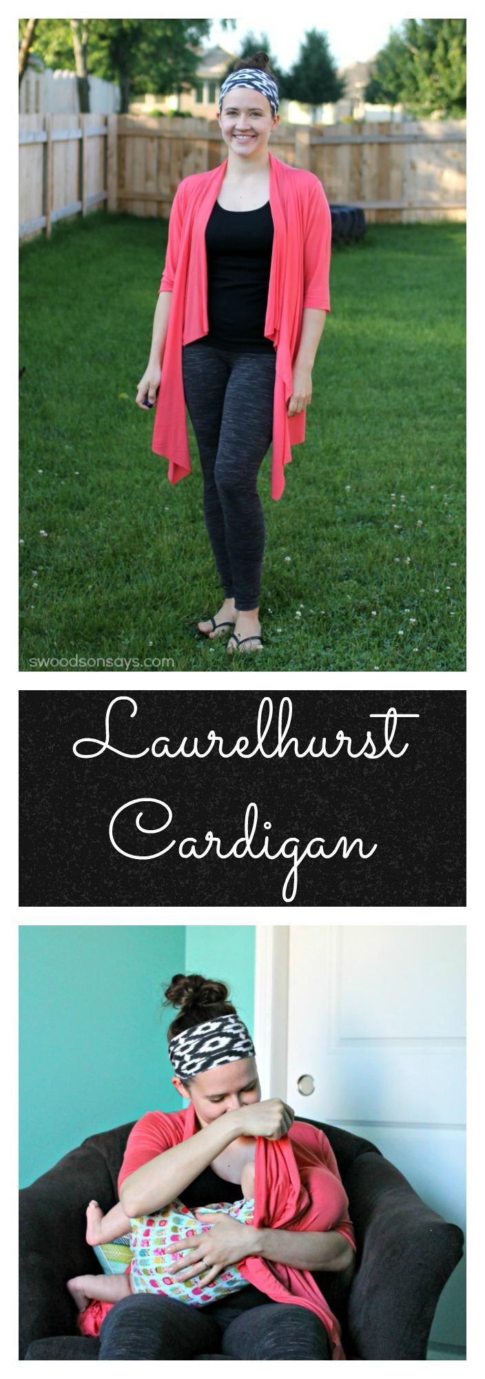Laurelhurst Cardigan Straight Stitch Designs