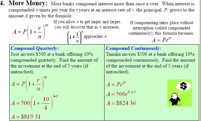 Mathematical consideration of radioactive decay