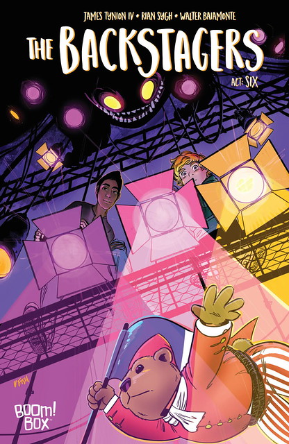 31494425493_290c873b52_z ComicList Preview: THE BACKSTAGERS #6