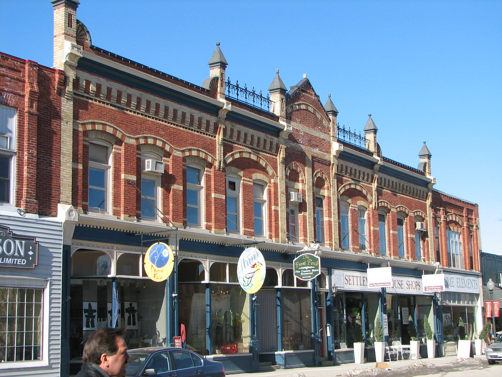 Port Perry Ontario Downtown Port Perry Was Re Built