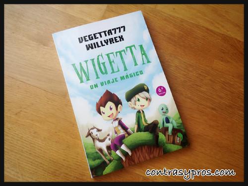 """Libro """"Wigetta, un viaje mágico"""". De Vegetta777 y Willyrex. Minecraft"""