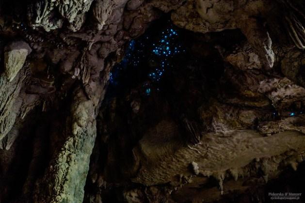 Waipu Caves - magia u sklepienia jaskiń