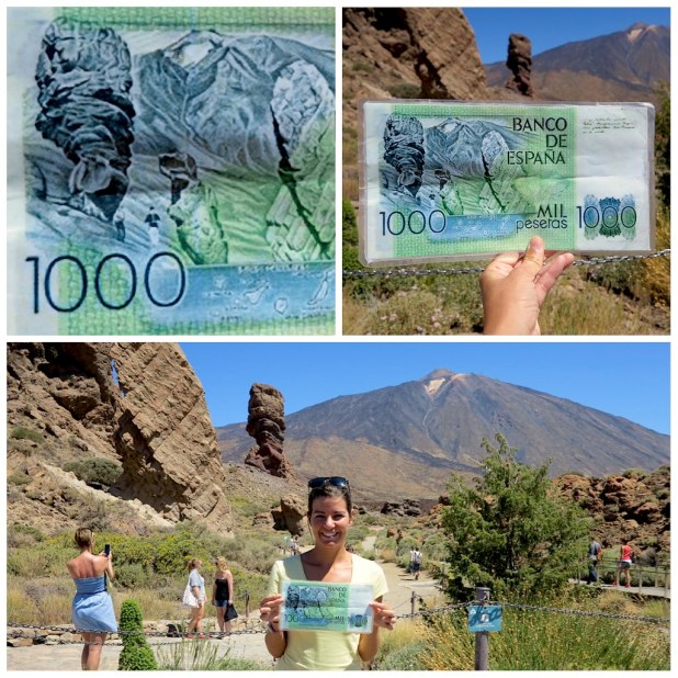 Teide billete 1000 pesetas