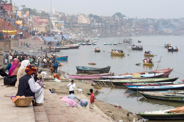 Vista del Ganges
