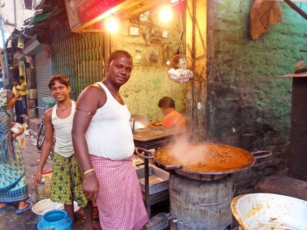 Comida en Varanasi