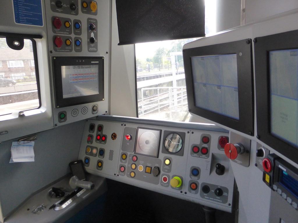 387123 DMOS B Cab In 424123 Cab Interior Of Govia