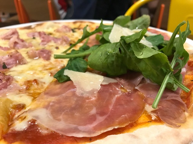 Prosciutto Crudo di Parma pizza at Peperoni