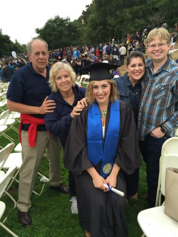 Parents, Josh, Me and Dani