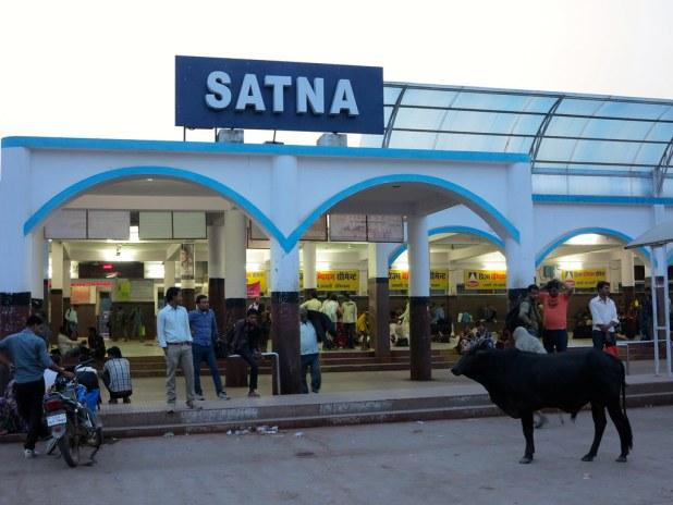 Satna Estación de tren