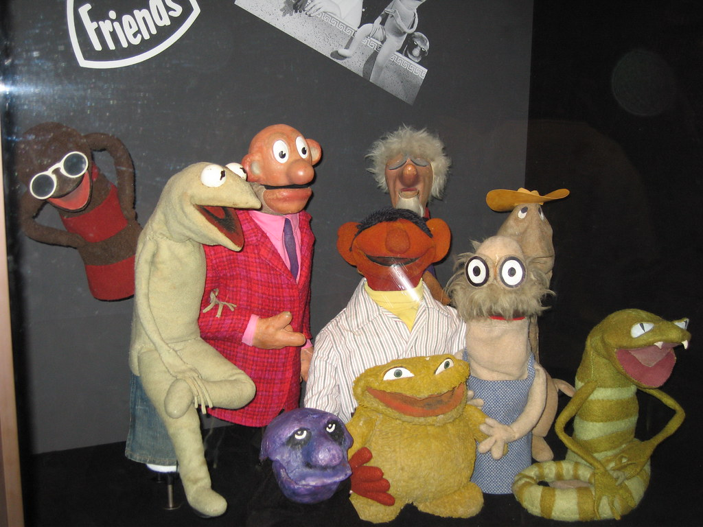 Sam And Friends The Cast Of Sam And Friends Jim Henson