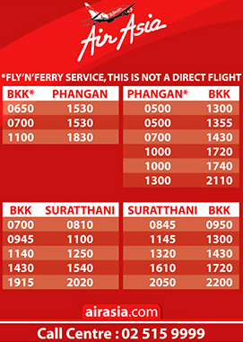 AirAsia a Koh Phangan