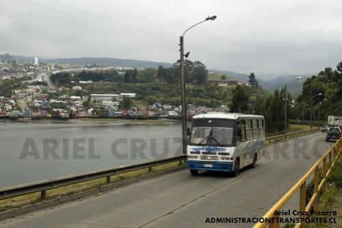 Transportes Línea Uno Castro - Caio Carolina / Mercedes Benz (RN7896)