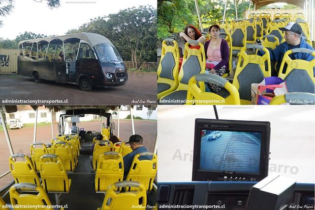 Bus Ara Moai (Turismo)   Collage   Inrecar Géminis - Chevrolet / HJRY62