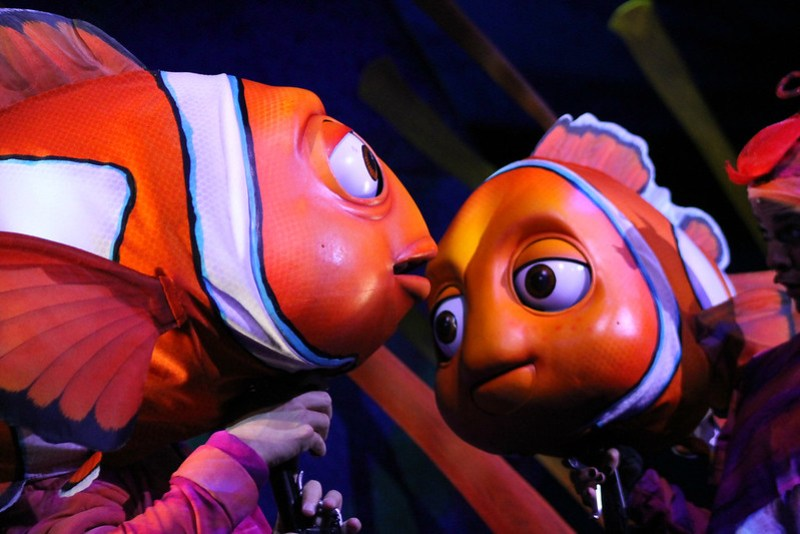 Finding Nemo the Musical Animal Kingdom Oct 2016 2