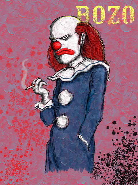 Smoking Monkey Bozo S Lament More Art For The Jonathan
