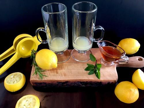 juicing the lemons