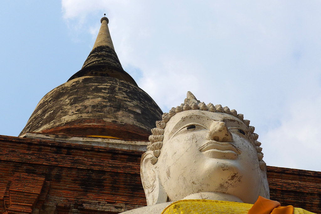 Thaïlande - Ayutthaya - 202 - Wat Yai Chai Mongkhon