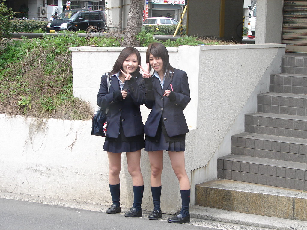 Japanese High School Students