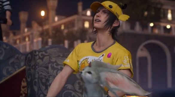 Final Fantasy XV - Moogle Chocobo Carnival