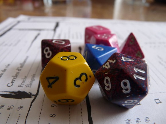 Dice and RPG