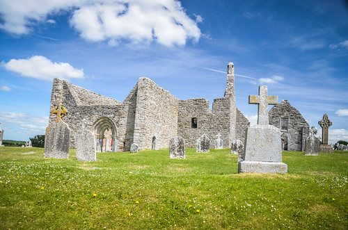 Clonmacnoise Abby and Ruins